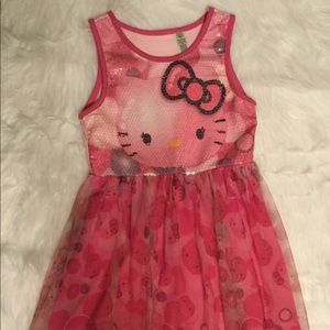 Other - 💗 Beautiful Pink Hello Kitty Dress Sz (7/8) 💗
